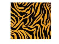 Tiger Print Patterned Tissue Wrapping Paper ~ Small Sheets ~ 50cm x 37.5cm